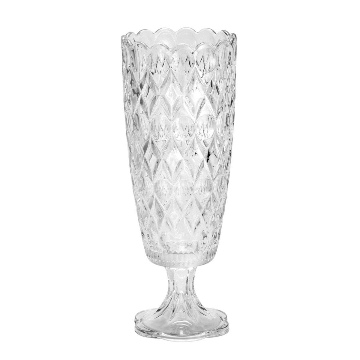 Vaso Cristal Angélica 39,6cm - Wolff