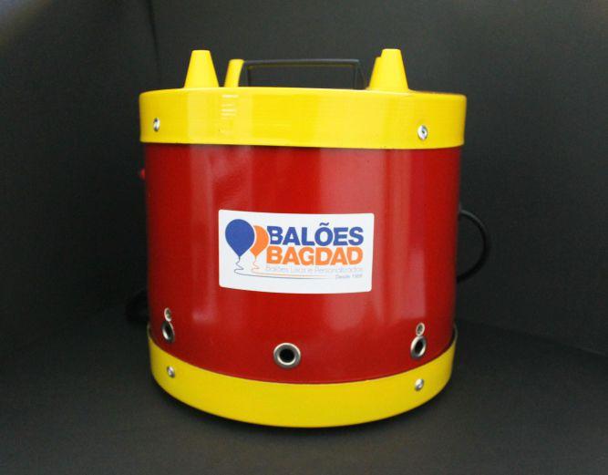 Inflador Elétrico para Balões/Bexigas - 04 Bicos Profissional