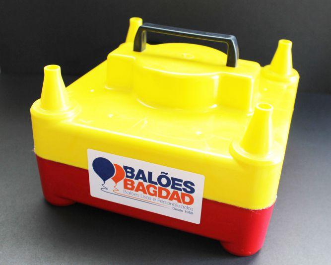Inflador Elétrico para Balões/Bexigas - 04 Bicos Semi Profissional