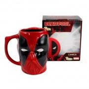 Caneca Marvel 3D Deadpool - Zona Criativa