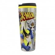 Copo Viagem Metal 450ml C/Tampa X-Men Turma - Zona Criativa