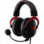 Headset Gamer Cloud II HYPER-X Surround 7.1  com Fio Preto/Vermelho