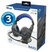 Headset Gamer: Ravu Azul GXT 307B PC/Xbox One/PS4 - Trust