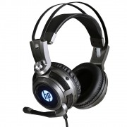 Headset Gamer Stereo H200 LED HP Preto