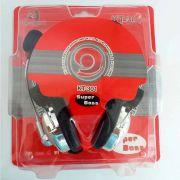 Headset Gamer Super Bass KT-301 Com Microfone