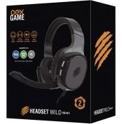 Headset Wild HS411 Preto/Cinza da Oex