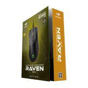 Mouse Gamer: C3 Tech Raven RGB 7 Botões 10000 DPI