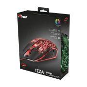Mouse USB Trust IZZA 2400 Gaming GTX 105 DPI LED
