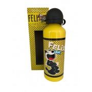 Garrafa Squeeze de Alumínio Gato Felix 500ml - Zona Criativa
