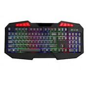 Teclado Usb Gamer RGB Tec Drive Aurora TG-2 Iluminado