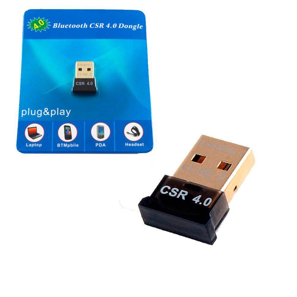 Adaptador Usb Bluetooth 4.0 CSR Dongle