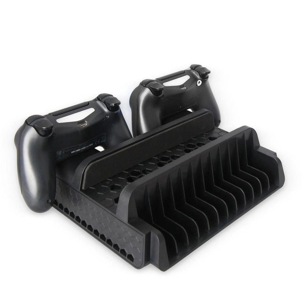 Base Vertical Com Cooler Ps4 Slim / Ps4 Pro Dobe Tp4-882