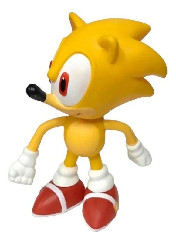 Boneco Sonic - Super Size Figure Collection - Amarelo