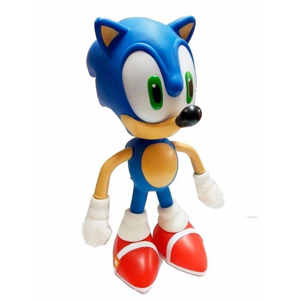 Boneco Sonic - Super Size Figure Collection - Azul
