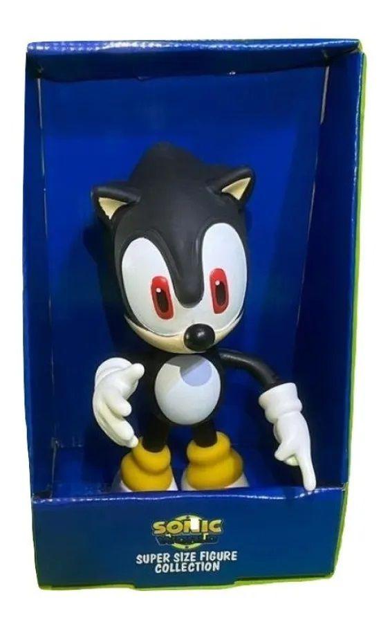 Boneco Sonic - Super Size Figure Collection - Preto