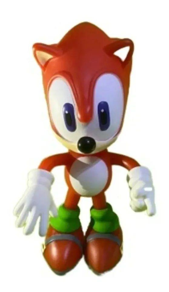 Boneco Sonic - Super Size Figure Collection - Vermelho