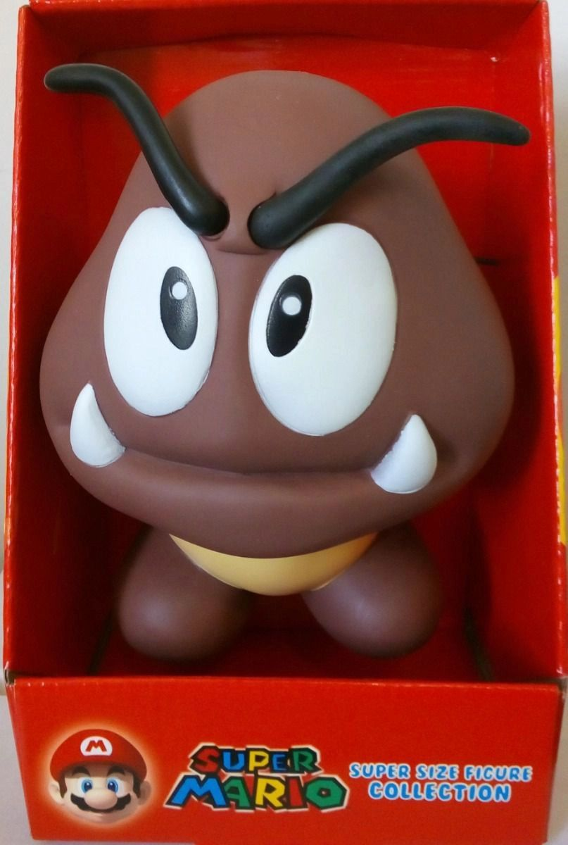 Boneco Super Size: Super Mario Collection - Goomba