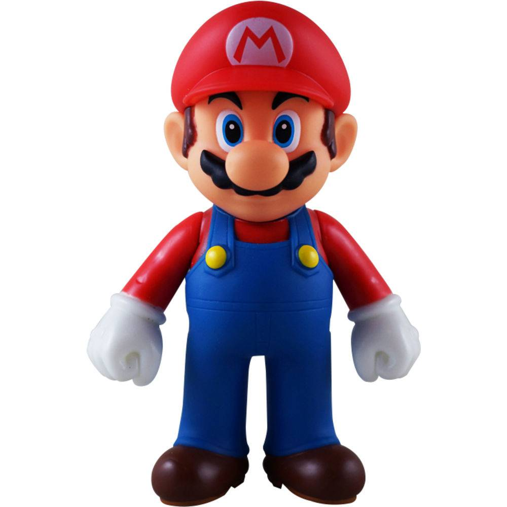 Boneco Super Size: Super Mario Collection - Mario Bros Tradicional