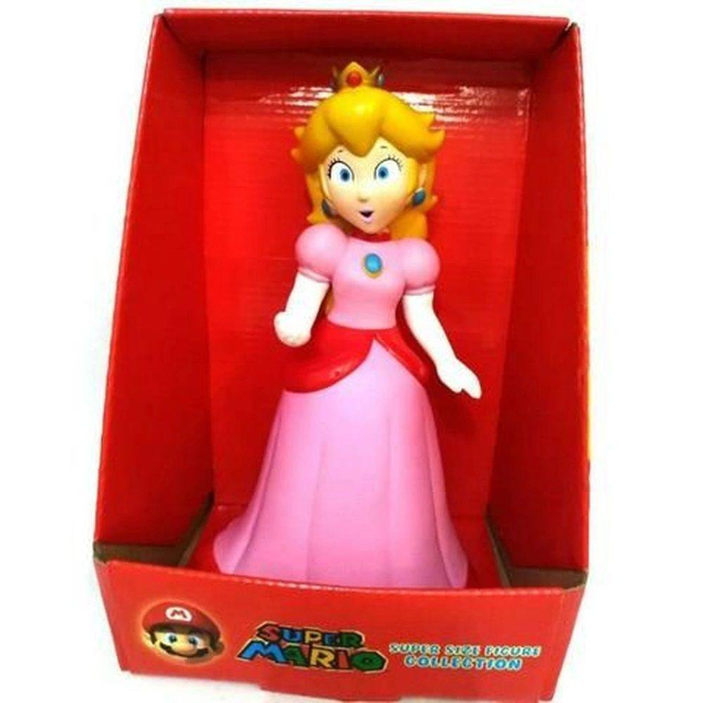 Boneco Super Size: Super Mario Collection - Princesa Peach