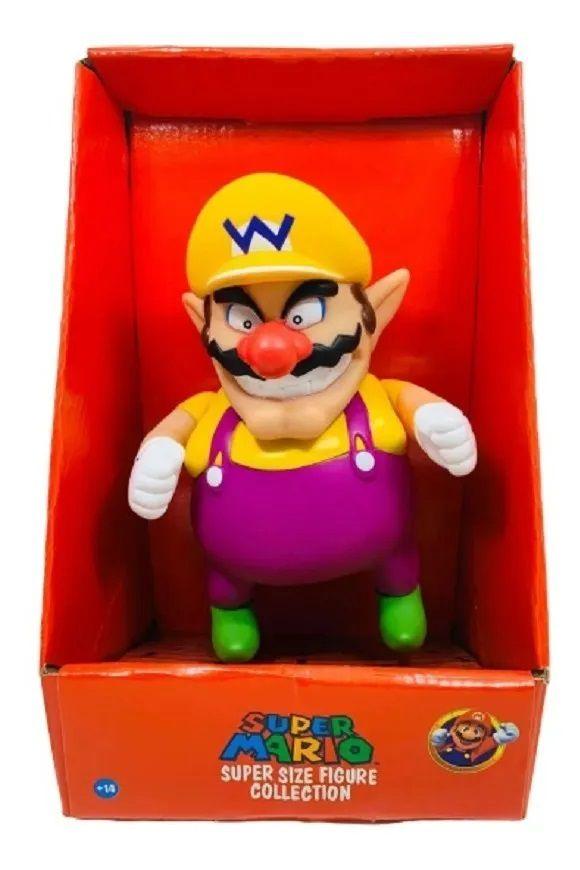 Boneco Super Size: Super Mario Collection - Wario