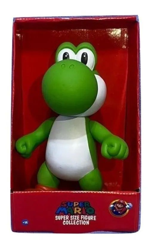 Boneco Super Size: Super Mario Collection - Yoshi