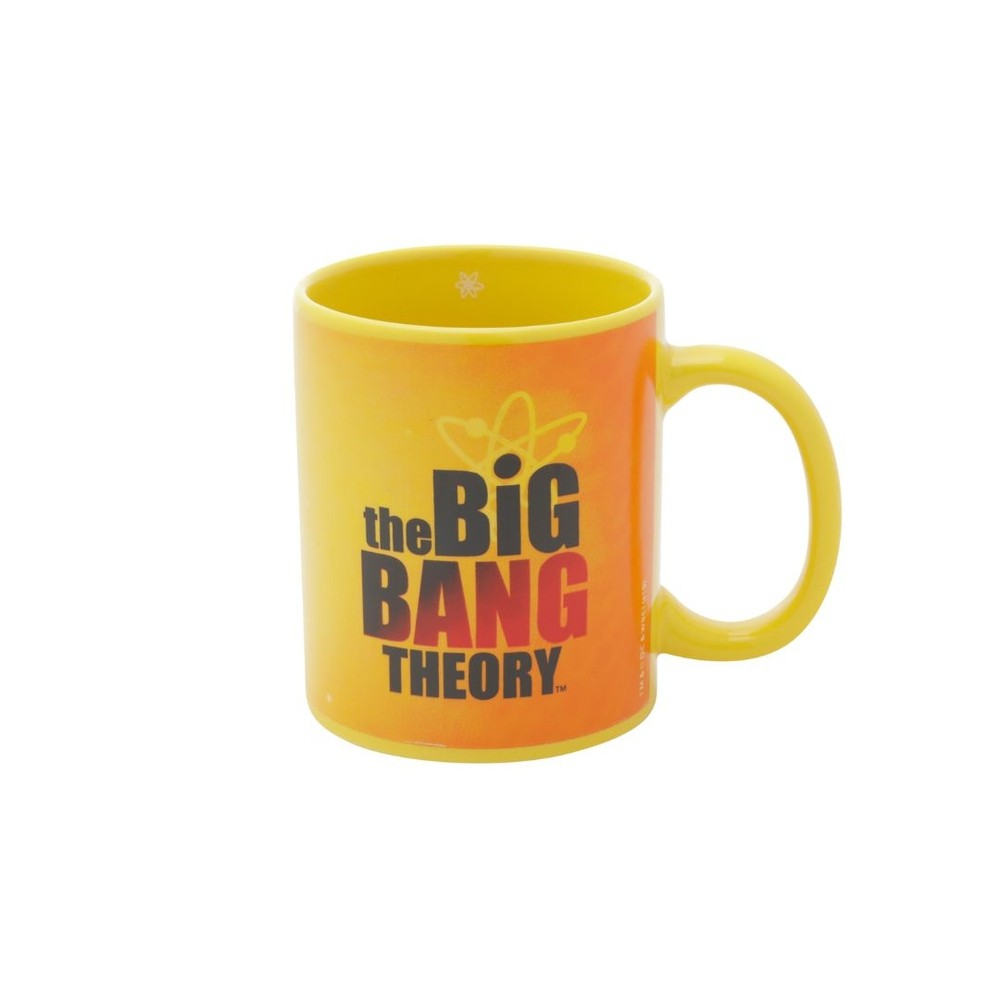 Caneca Porcelana THE BIG BANG Theory Amarela Licenciada 320ml - Zona Criativa