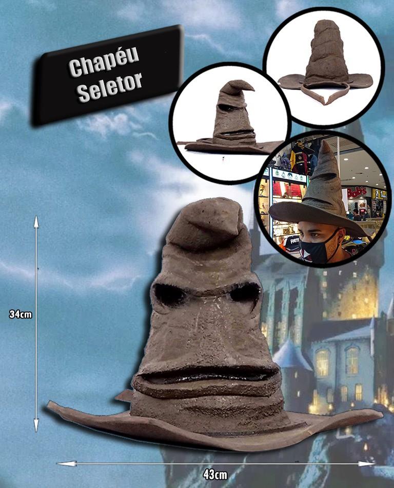 Chapéu Seletor do Harry Potter
