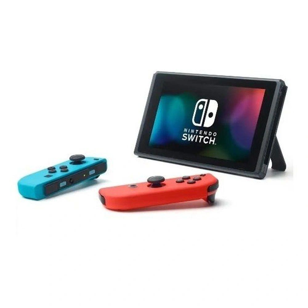 Console Nintendo Switch Neon Bateria Estendida 32GB Azul,Vermelho Bivolt