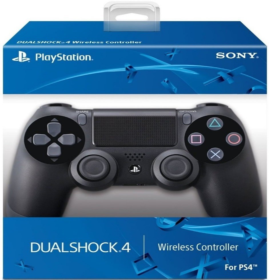 Controle Dualshock 4  Preto - PS4 [PRIMEIRA LINHA SEM FIO]