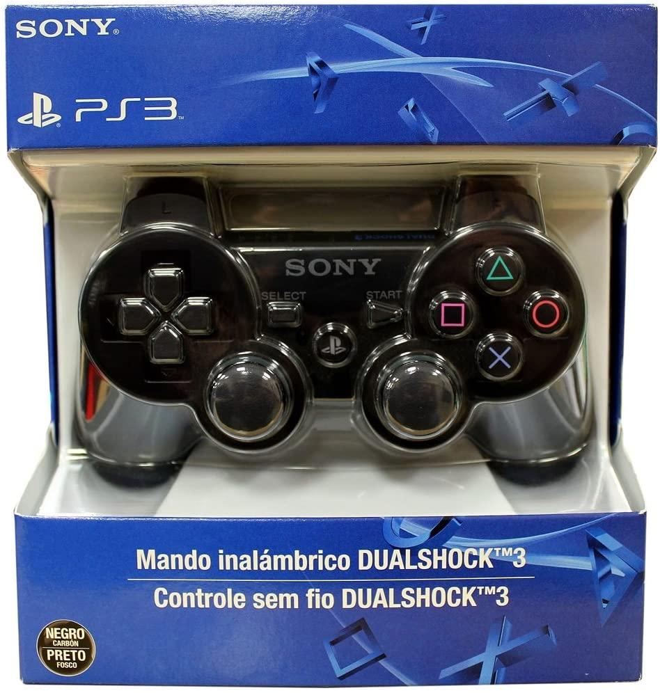 Controle Dualshock 3 Bluetooth sem fio PS3