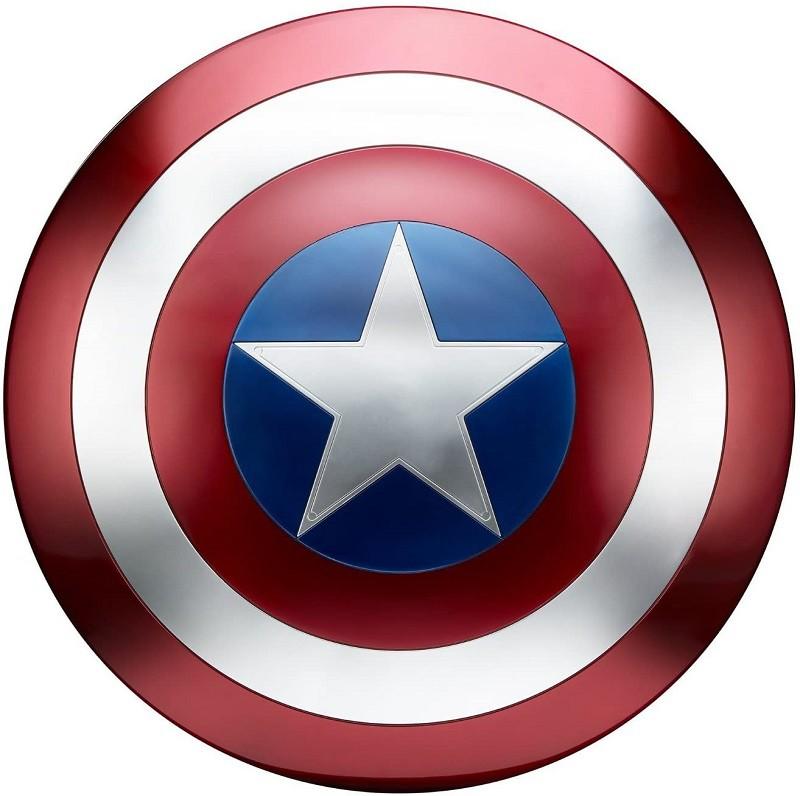 Escudo Capitão América 45cm Tamanho Real
