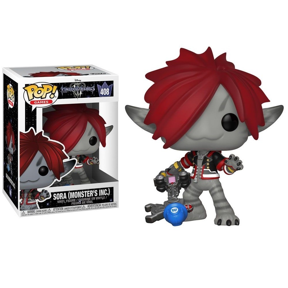 Funko Pop 408 Kingdom Hearts III Sora (Monsters INC)