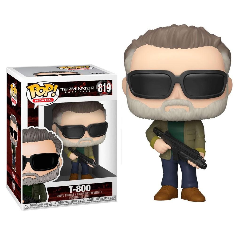 Funko Pop 819 Terminator Dark Fate T-800