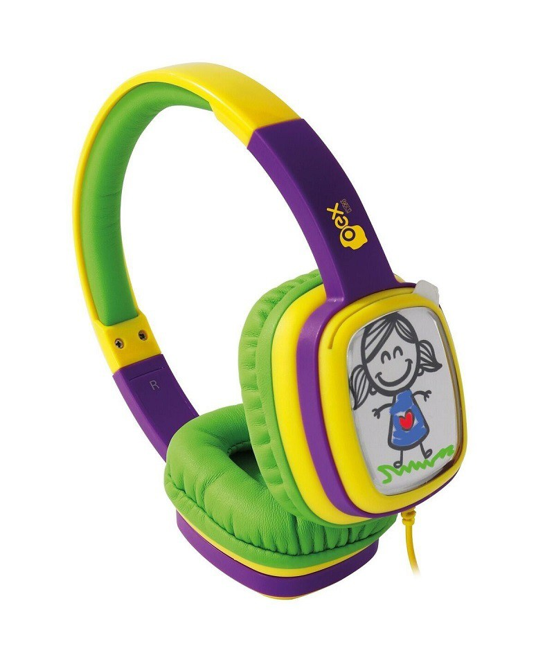 Headphone Infantil Cartoon HP302 - Oex Kids