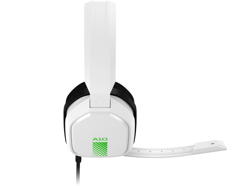 Headset ASTRO Gaming A10 para PlayStation, Xbox, PC, Mac - Branco/Verde
