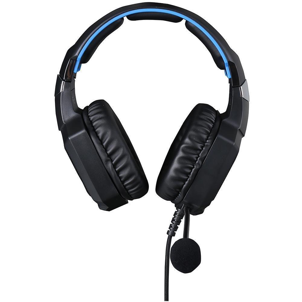 Headset Gamer H320 HP Stereo P2+USB LED