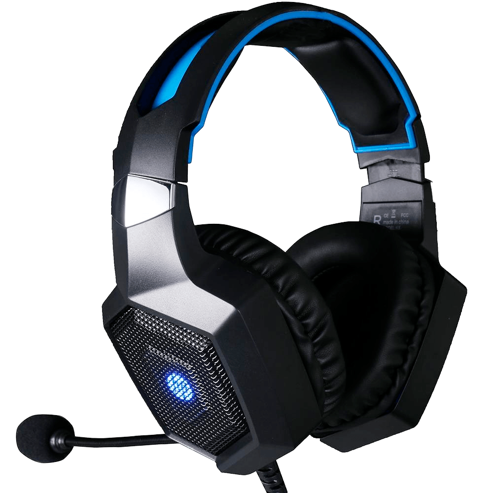 Headset Gamer H320 HP Stereo P2+USB LED