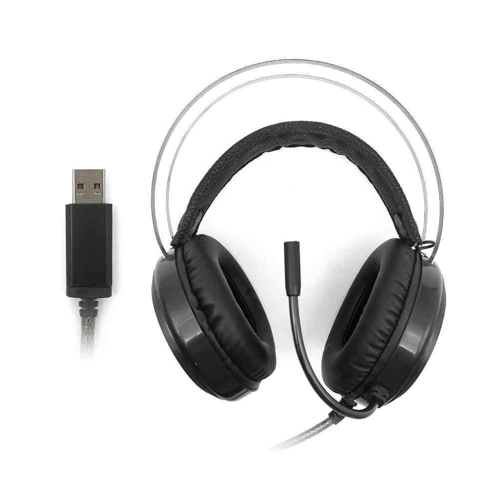 Headset Gamer Kestrel C3TECH 7.1 Led Multicores PH-G720BK