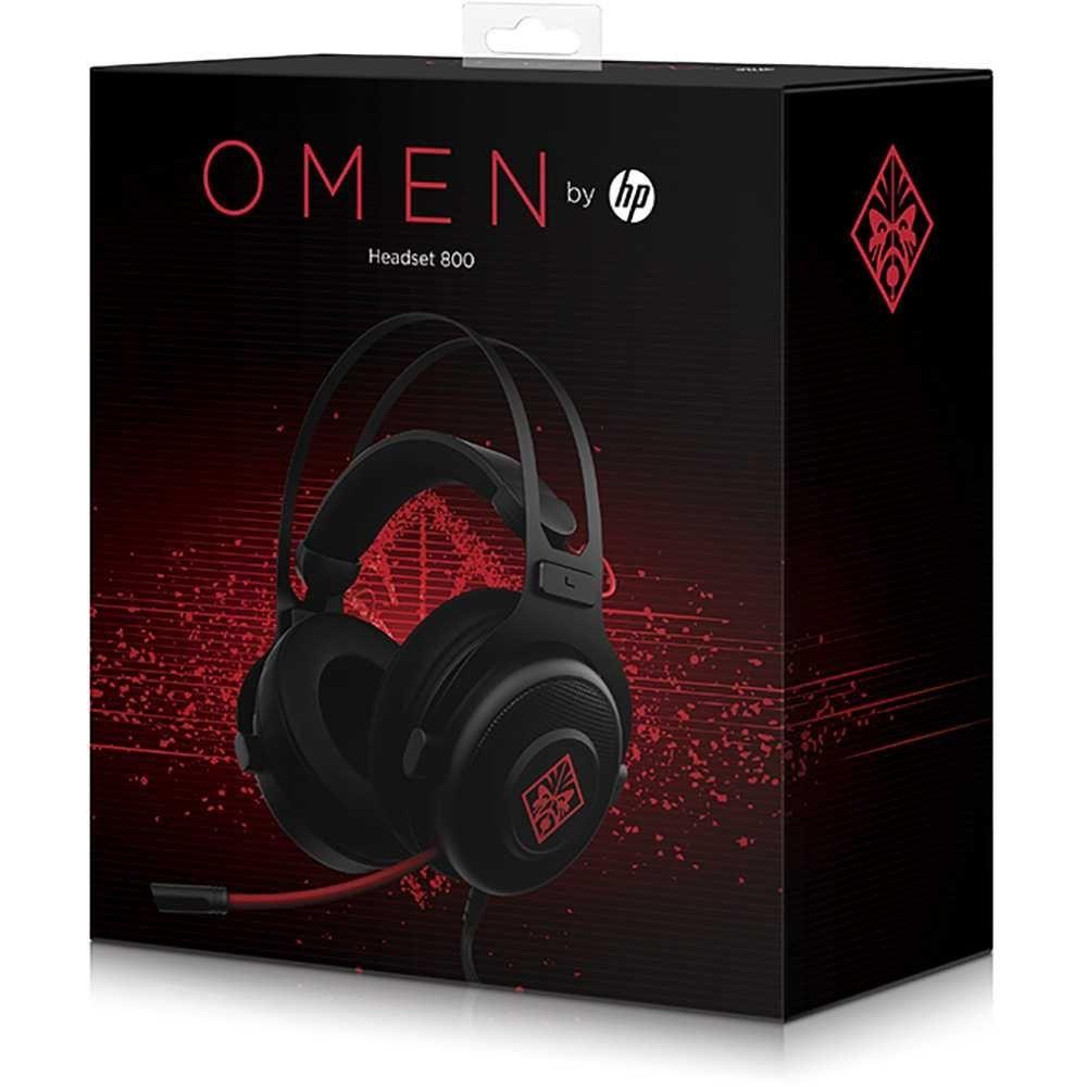 Headset Gamer OMEN 800 HP Preto