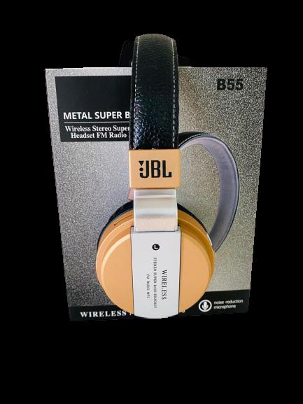Headset Metal B55 Super Bass Mp3 Wireless , Bluetooth - JBL