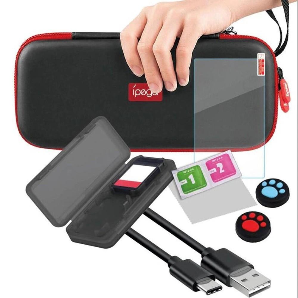 Kit Acessórios Nintendo Super Pack Switch Lite 9 em 1- Ipega