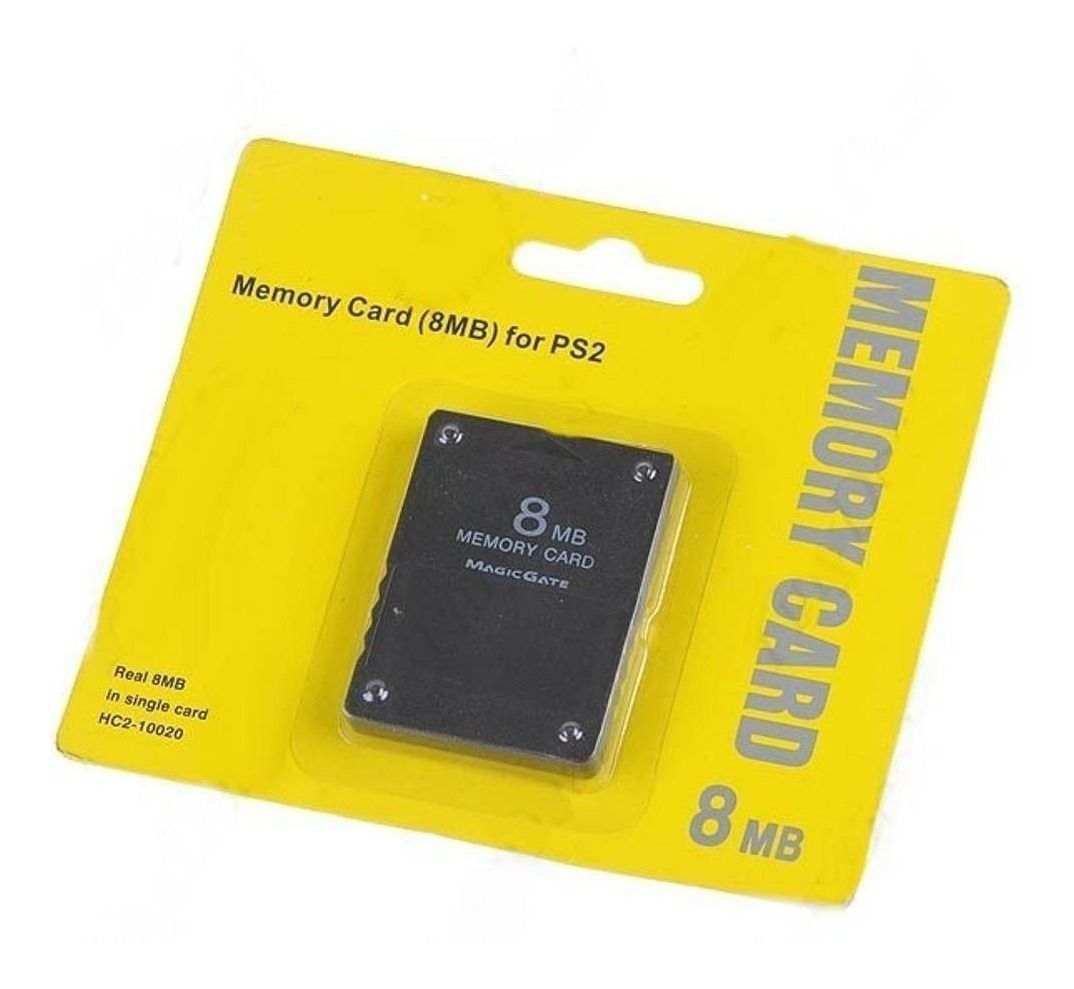 Memory Card  8MB- PS2