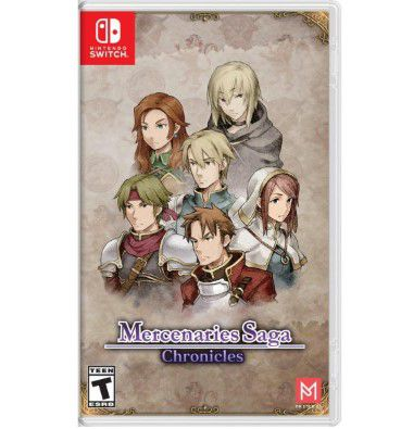 Mercenaries Saga Chronicles - Switch