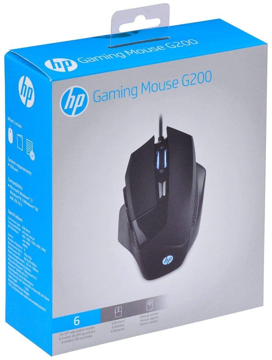 Mouse Gamer: HP G200 Sensor Avago A3050 4000DPI