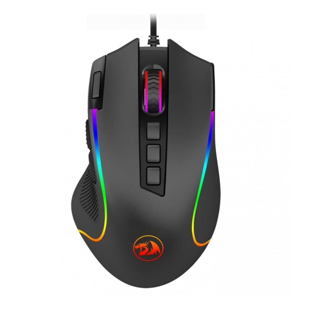 Mouse Gamer Predator REDRAGON 9 Botões 8000 DPI RGB