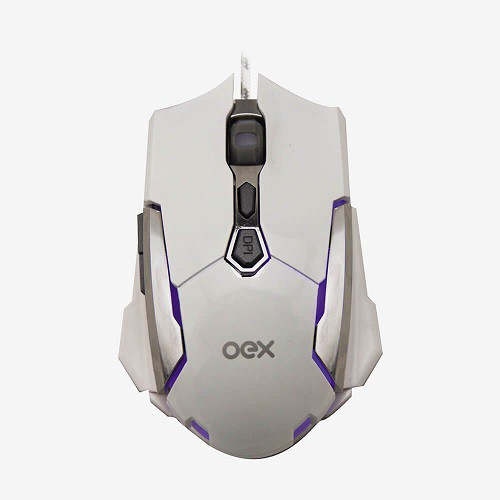 Mouse Gamer Sensor Óptico 4000dpi OEX - Robotic MS308