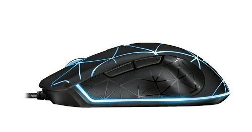 Mouse USB Trust Gaming: Locx 4000 DPI Preto