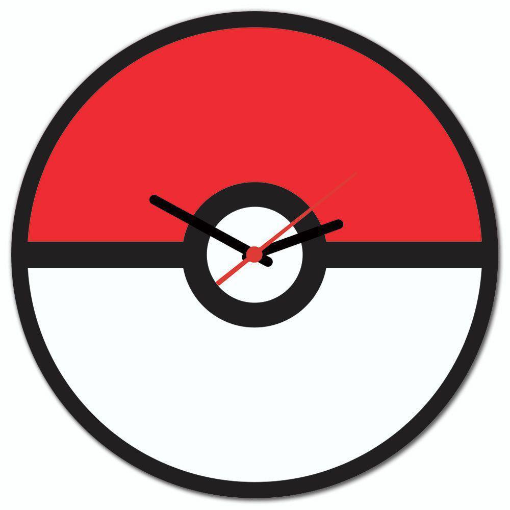 Relógio de Parede Pokebola - Beek
