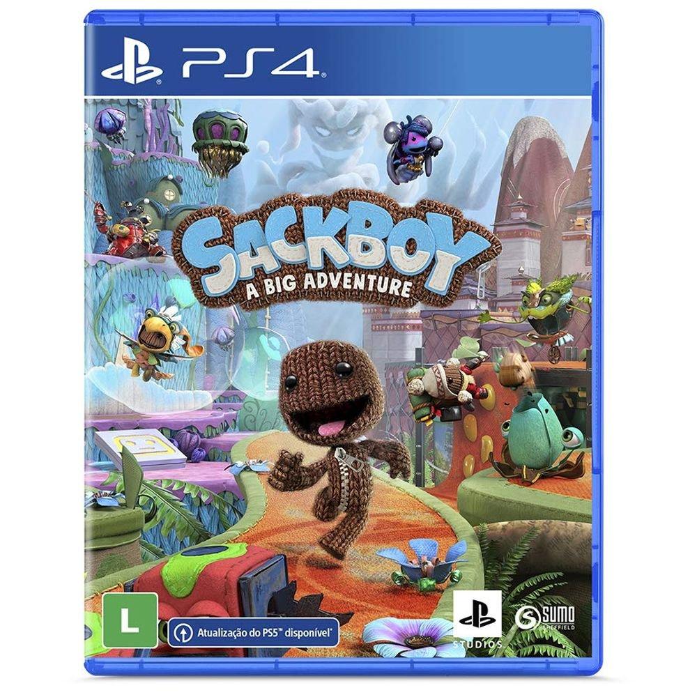 Sackboy Uma Grande Aventura - PS4