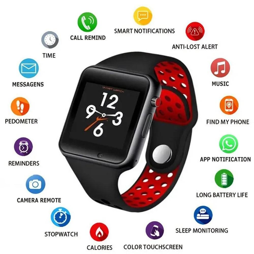 Smart Watch Miwear M3 Pedômetro Calorias